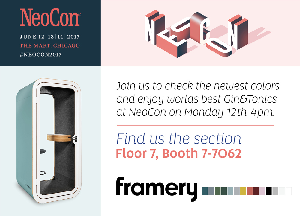 Framery at Neocon